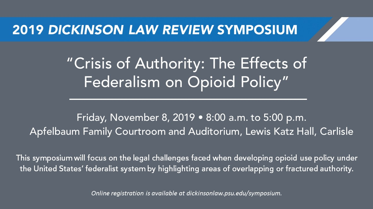 Dickinson Law Review Symposium