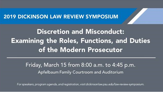 Dickinson Law Review Symposia