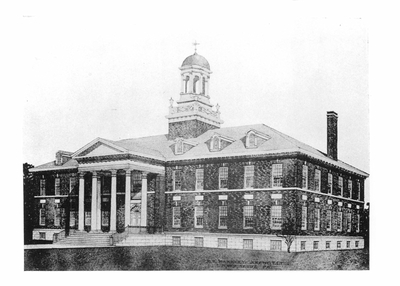 Architect Drawing Trickett Hall