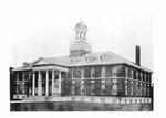 Architect Drawing Trickett Hall