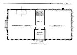 Architect Plan Second Floor Trickett Hall